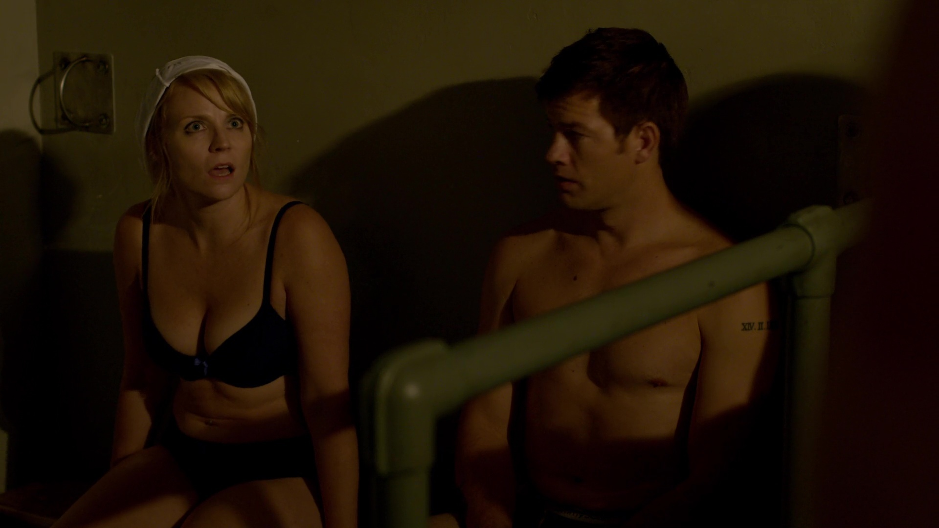 Drew tarver, andrew ridings gay, shirtless scene in the other two